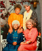 Rue Mcclanahan Signed In-person Golden Girls Color 8x10 Photo - Authentic, Rip