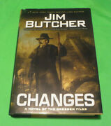 Changes Dresden Files By Jim Butcher, 1st Edition / 1st Printing Hardcover Book