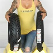 Mh90h 21, 160/70 17 Dunlop American Elite Bw Front And Rear Tire Kit - 2 Tires