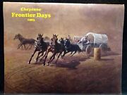 1983 87th Annual Cheyenne Frontier Days Rodeo Souvenir Program Ted Long