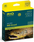 Rio Grand Wf-7 Floating Fly Line - Pale Green/ Lt Yellow -free Us Ship