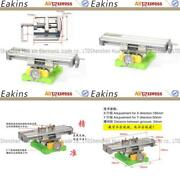 Precision Dual-slot Multifunction Milling Machine Bench Drill Vise Worktable X Y