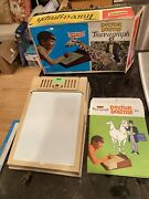 Doctor Dolittle Trace-a-graph By Emenee 1966 In Original Box Rare Obscure Set