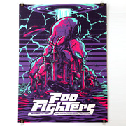Foo Fighters Poster 11/11/2017 Sioux Falls Sd Numbered /400