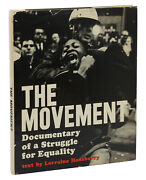 The Movement By Lorraine Hansberry First Edition 1964 Raisin In The Sun 1st