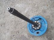 Ford 3000 Tractor Original Left Drive Axle Shaft W/ Hub And Stud Bolts