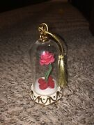 Lenox Beauty And The Beast Rose Ornament Disney New In Box