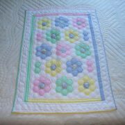 Amish Quilt For Sale Handmade Amish Baby Quilt Flower Garden Amish Baby Quilt