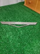 1960and039s Corvair Lakewood Wagon Emblem Chevrolet Part Number 3784580 Genuine