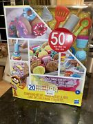 Play-doh Kitchen Creations - Great Baking Book Set 50 Pieces In Box 8 Lbs New