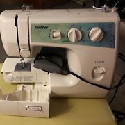 Brother Ls2400 Full-size Sewing Machine Easy To Use 20 Stitch Functions