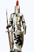 Armor Medieval Full Medieval Knightand039s Armor Set Sca Larp Steel Protection Battle