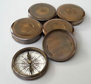 Stanley London Pocket Compass Robert Frost Poem Lot Of 100 Pcs Christmas Gift...