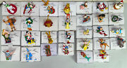 Disney Christmas Magic Grolier Lot Of 30 Ornaments W/ Boxes Collectibles