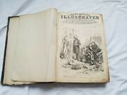 Antique 1876 Frank Leslie's Usa Illustrated Newspaper Whole Year January-dec