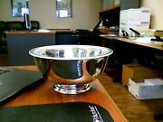 Silverplated Bowl Paul Revere Reproduction By Reed And Barton Never Used