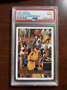 Kobe Bryant 1997 Topps Minted In Springfield Sp Parallel 2nd Year Psa 9 Mint
