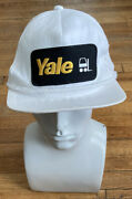 Yale Forklifts Patch Rope Hat Stitched Snapback Baseball Cap Trucker Adjustable