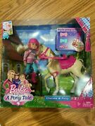 Rare Barbie And Her Sisters In A Pony Tale Chelsea And Pony Playset - New And Sealed