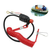 Kill Switch And Safety Tether For Most Brand Outboard Engine Motor Us