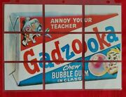 1973 Wacky Packages Series 1 Uk Complete Puzzle Set @@ Very Rare @@