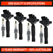 Swan Ignition Coil And Ngk Spark Plug Pack For Mercedes Benz C-class 180 200 250