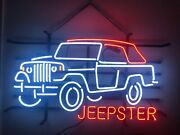 Jeepster Neon Sign Your Vehicle Ford Chevy Dodge Jeep Toyota Mustang