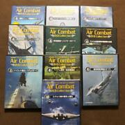 Air Combat Deagostini Dvd Collection 10 Volumes Set Military War Fighter Unused
