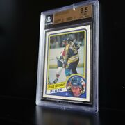 1984-85 Opc Doug Gilmour Bgs 9.5, 3 10's Close To Bgs 10 Better Than Psa 10