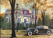 Ken Eberts The Throckmorton Residence Lee Mass. With 1933 Packard Super 8