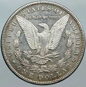 1890p United States Of America Silver Morgan Antique Us Dollar Coin Eagle I88523
