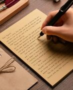 50 Sheets A4/b5/a5 Vintage Paper Writing Letter Stationery Romantic