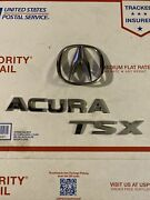 2009-14 Acura Tsx Trunk Lid Emblems Used