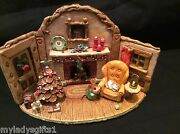 Wee Forest Folk Special Color Custom Designed Home At Christmas