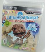 Sony Ps3 Playstation 3 - New Little Big Planet Collector's Edition Factory Seal