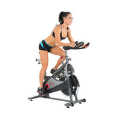 Premium Indoor Cycling Exercise Spin Bike Chain Drive Clip-in/caged Pedals
