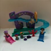 Fisher Price Bubble Guppies Rock And Roll Stage W/ Extras