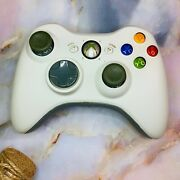 Xbox 360 White Controller As Is/for Parts/not Working - Used