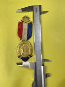 Wwi R.a.o.b. To Commemorate The Allies Victory Military Medal Raob 1919 Pin
