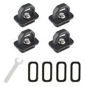 Tie Down Anchors 4 Pcs Truck Bed Side Wall Anchor For Silverado Colorado Sierra