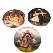 Edwin M Knowles The Sound Of Music Maria Wedding Collectors Plates 1986 1987