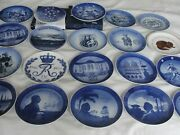 Royal Copenhagen Different Collector Plates To Choose