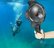 Diving Dome Port Waterproof Case Black Trigger Housing For Go Pro 7 Accessories
