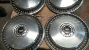 1960and039s 1970and039s Ford Bronco 1/2 Ton Pickup Truck 15 Hubcaps Wheel Covers Hub Caps