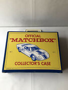 Official Matchbox Collector's Case With 35 Cars And Trucks