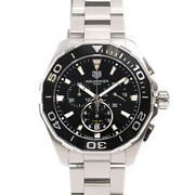 Tag Heuer Cay111a.ba0927 Aqua Racer Chronograph Menand039s Watch Pre Owned [u0214]