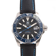 Tag Heuer Way211b Aqua Racer 300m Menand039s Watch From Japan Pre Owned [u0214]