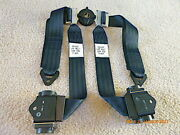Nice Pacific Scientific Seat Belt And Shoulder Harness W Take-up Reel Likely New