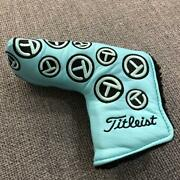 Scotty Cameron Golf Putter Head Cover Turquoise Blue Blue Titleist Rare