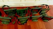 Lot Of 8 Crestron Tpmc-9-b-t 9 Lcd Tilt Touch Screens - Tested